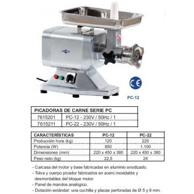 PICADORA DE CARNE PC-12 - 230V/50 HZ/1