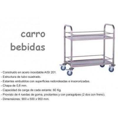 CARRO DE SERVICIO BEBIDAS CV-9550/2