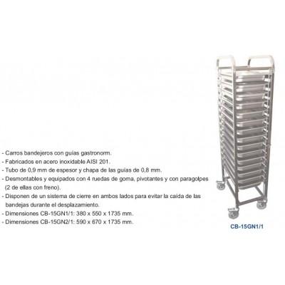 CARRO BANDEJERO CB-15GN1/1