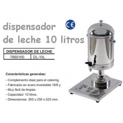 DISPENSADOR DE LECHE DL-10L