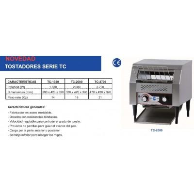 TOSTADORA DE CINTA TC-1350
