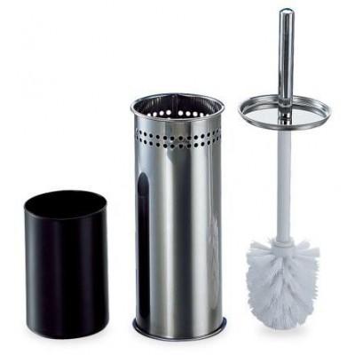 Set de cepillo y soporte inoxidable para baño °10