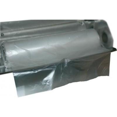 Rollo de 500 bolsas en rollo de 350x450 mm.