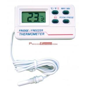 Termómetro digital con sonda para frigorífico/con