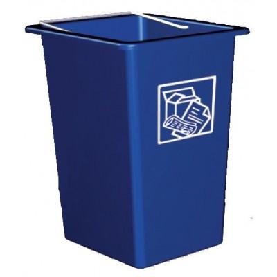 Contenedor de desperdicios y reciclaje 26 lt