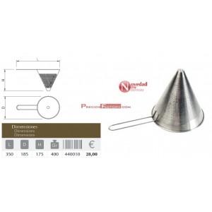 Colador / tamizador chino 350x185x175 mm.