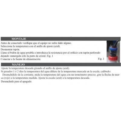 AGUA CALIENTE PARA LAVAMANOS AUTONOMO 220V