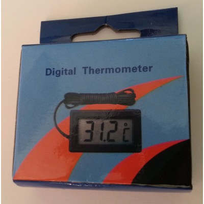 TERMOMETRO DIGITAL CON SONDA -50 ~ +110°C
