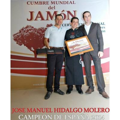 CUCHILLO JAMONERO 3 CLAVELES PERSONALIZADO