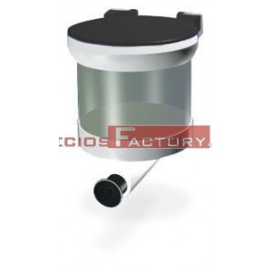 Dosificador de jabón 1 litro 130x135x140 mm.