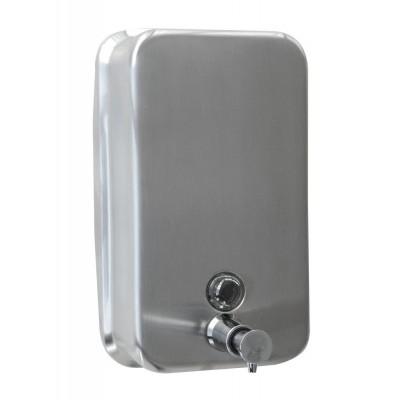 Dosificador de jabón inoxidable 1200 ml. 130x60x2